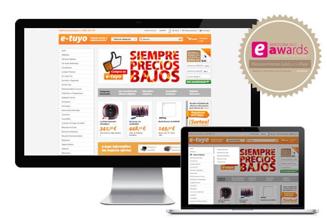 e-commerce de éxito