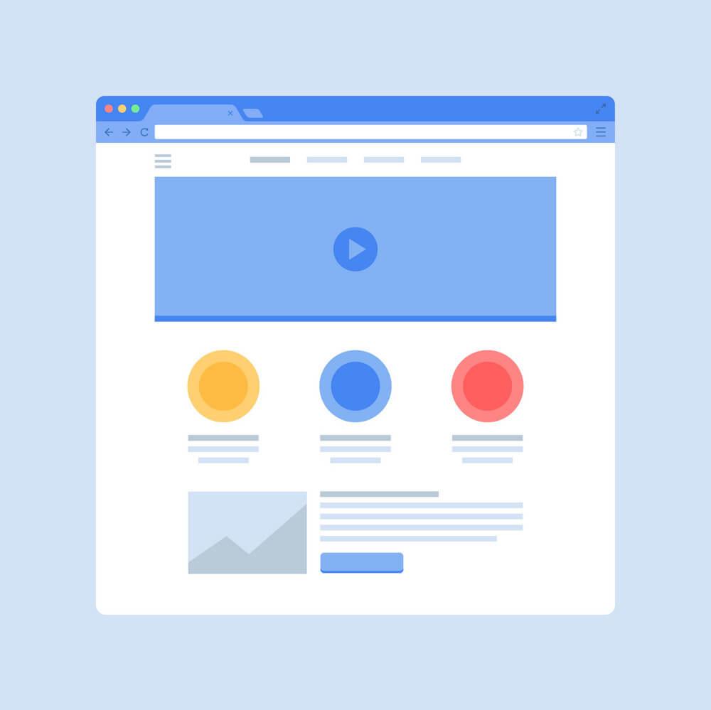 como diseñar home page